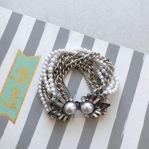Pearl Statement Bracelet
